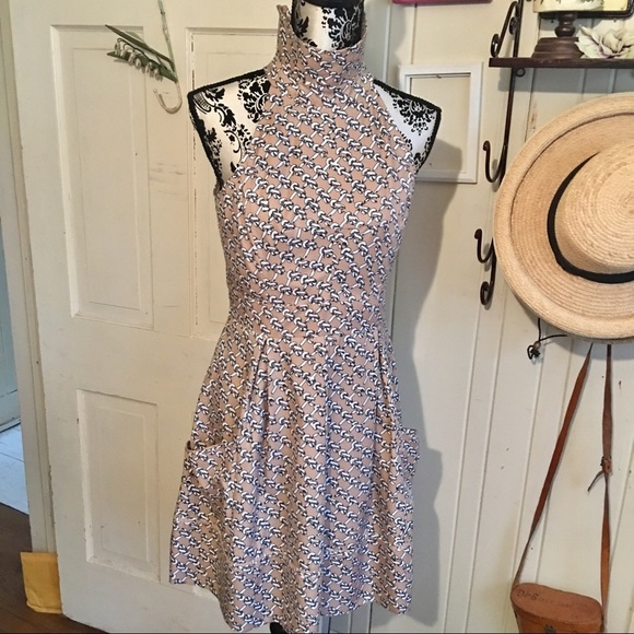 Jessica Simpson Dress - 6 cotton lined ,taupe